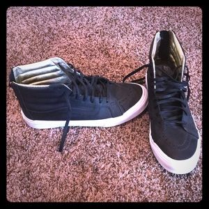 Only worn once, Vans high tops